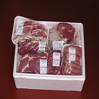 Evergreen Farm meat boxes